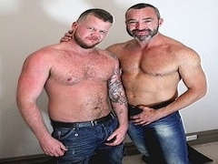 Andrew and Drew Rugged Top Muscle Bottom X