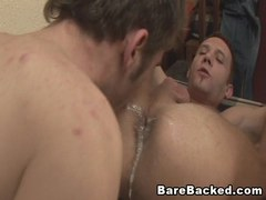 Two Gay Men Hardcore Bareback Fucking