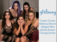 Lesbian pussy eater vampires Part 1 - GirlsWay